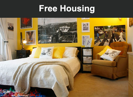 FREE Housing. Come without worries!